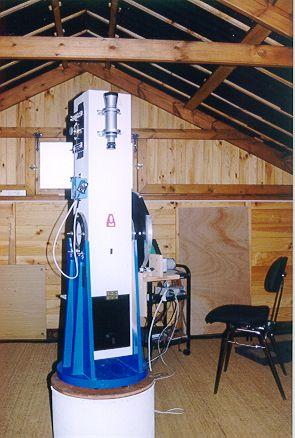 систему Мела Бартелса для автоматизации телескопа Добсона.  Когда я строил мой телескоп три года назад...